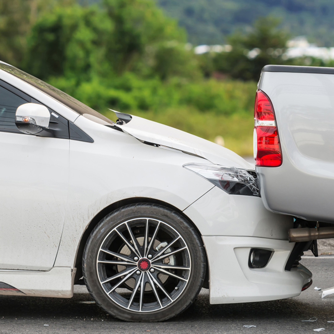 rear-end accident